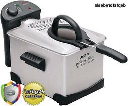 T-fal Easy to Clean Pro Enamel Immersion Deep Fryer Kitchen