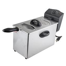Home&Kitchen 4L Electric Deep Fryer Single-tank Commercial T