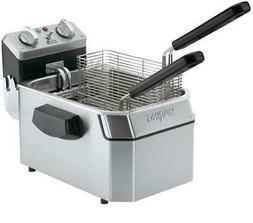 WARING COMMERCIAL WDF1000 Electric Deep Fryer,120V,10 Lb