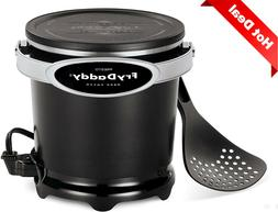 Electric Deep Fryer: 4 Cups Oil Capacity, Easy to Clean & St