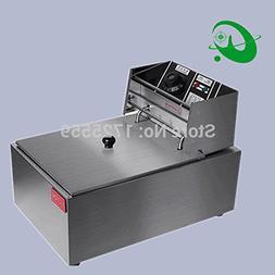 220V Electric deep fryer, 8L Commercial air fryer, Potato ch