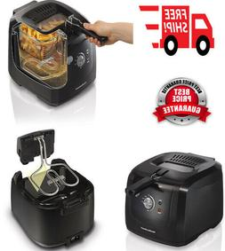 Electric Deep Fryer Cool Touch Basket 2 Liter Oil Capacity P