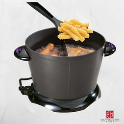 Electric Deep Fryer Dual Daddy Cooker Home Kitchen Counterto