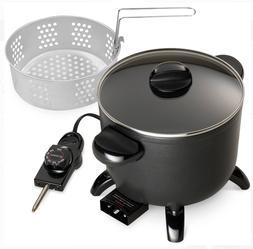 Electric Kettle Multi Cooker And Steamer Roaster Deep Fryer