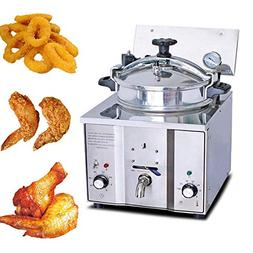 16L Electric Pressure Deep Fryer, Vinmax Commercial Countert