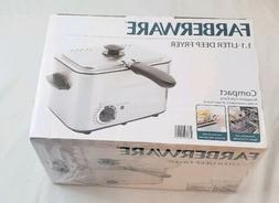 Electric Small Deep Fryer Farberware Stainless Steel Fried F