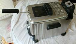 Emeril T-Fal Deep Fryer SERIE F36-C - New But No Box or Cord