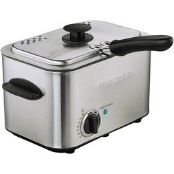 Farberware Royalty Stainless Steel 1.1 Liter Deep Fryer