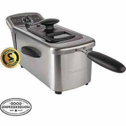 Farberware Royalty Stainless Steel 2.5 Liter Deep Fryer With