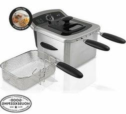 Farberware Royalty Stainless Steel 4 Liter Deep Fryer