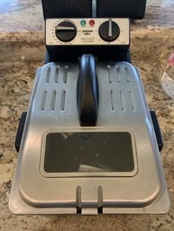 Waring Professional Deep Fryer with Basket Model DF250B Test