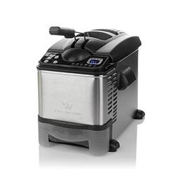 Wolfgang Puck 3.5 Liter Digital Flash Fryer with Automatic O