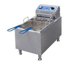 Globe Food Equipment Countertop S/S Electric 16-Lb. Capacity