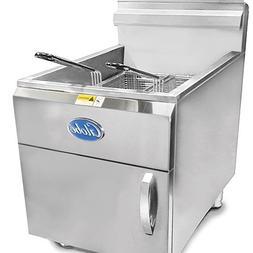 Globe Food Equipment Countertop 30-LB Capacity Natural Gas F