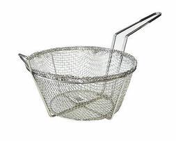 fry basket round nickel plated kitchen deep