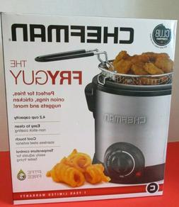 Chefman Fry Guy Deep Fryer with Removable Basket 4.2 Cup 1 L
