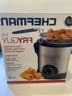 Chefman Fry Guy  Deep Fryer - Silver