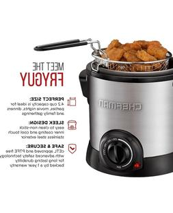 Chefman Fry Guy  Deep Fryer - Silver