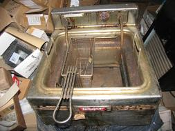 GE General  Electric Hotpoint  Deep Fryer Cooker 220 volts