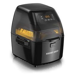 George Foreman GHFD6800B Twist 'N Crisp Air Fryer, with Ro