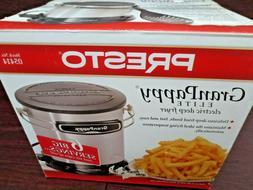 Presto GranPappy Elite 6-Cup Deep Fryer Model 05414 USA 1300