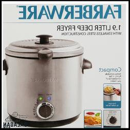 Farberware Home Electric Deep Fryer Round Countertop 1.9L Oi