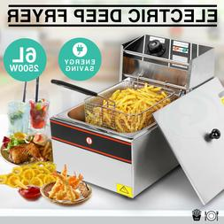 Home Restaurant French Fry Electric Deep Fryer Tank Countert