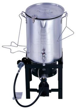hot deal new 30qt turkey deep fryer