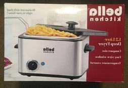 Bella Kitchen Deep Fryer 1.2 Liter New in Box Compact Size