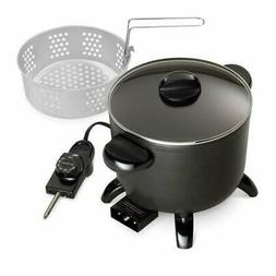 Presto Kitchen Kettle Electric Multi Cooker Roaster Steamer