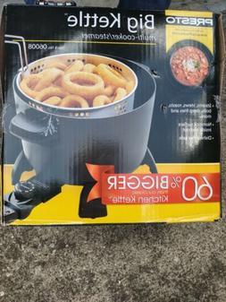Presto Kitchen Kettle Electric Multi Cooker Roaster Steamer