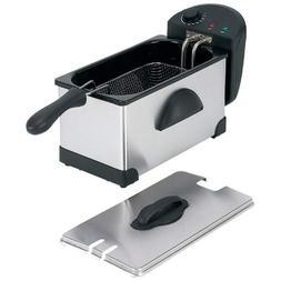 Maxam KTELFRY3 3 Qt Electric Deep Fryer