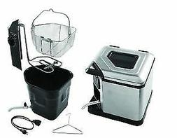 NEW~Farberware Xtra Large Capacity Deep Fryer,Cooks Up to 14