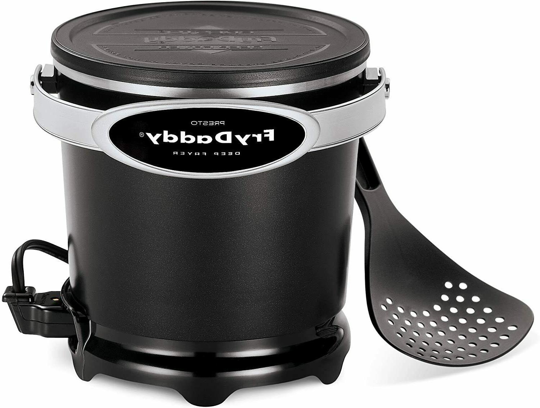 Presto 05420 FryDaddy Electric Deep Fryer, Black Color
