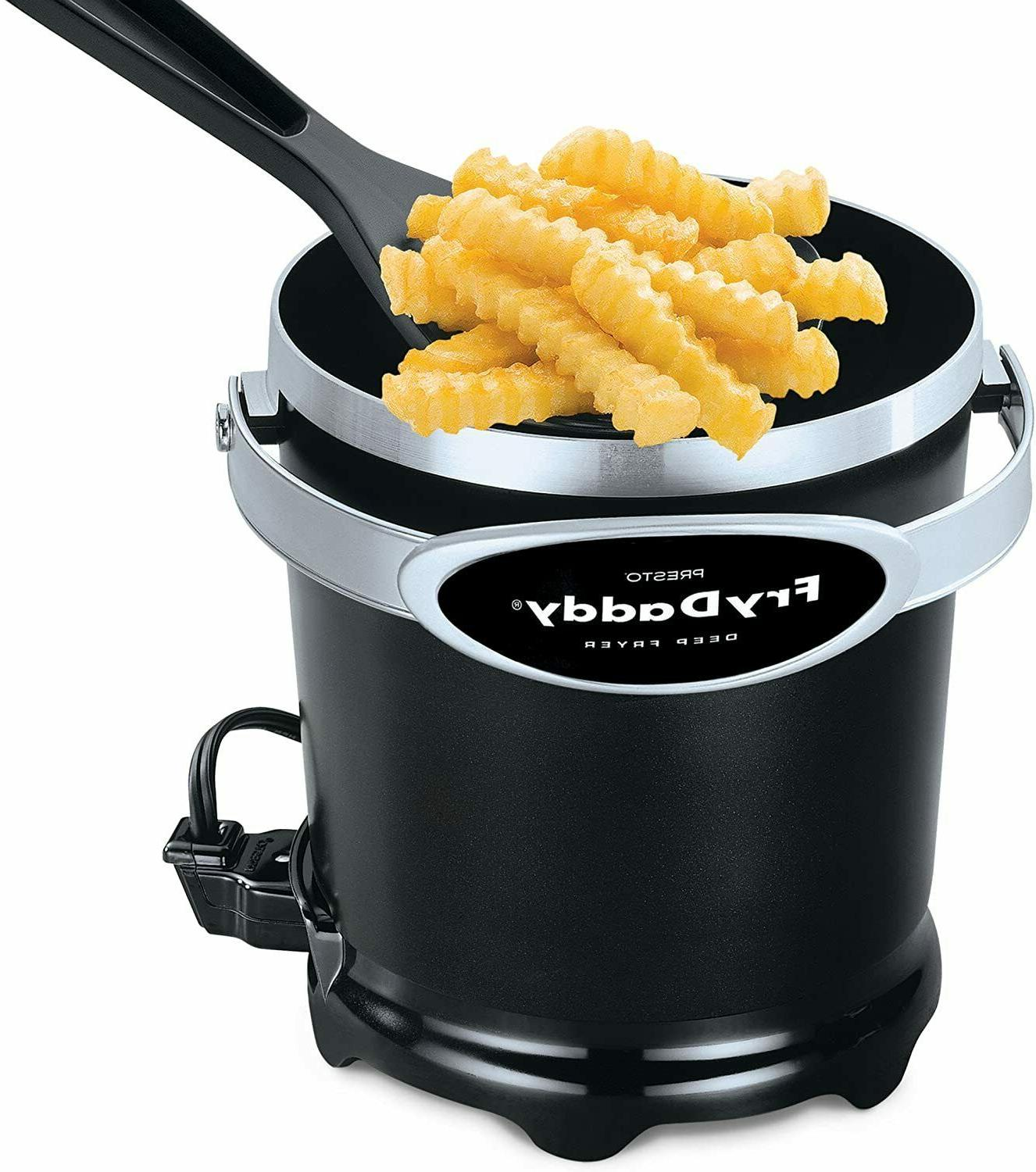 Electric Fryer: Cups Capacity, to Surface