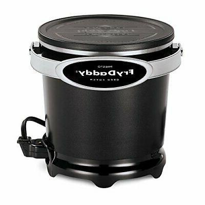Presto 05420 FryDaddy Electric Deep Fryer Black Color