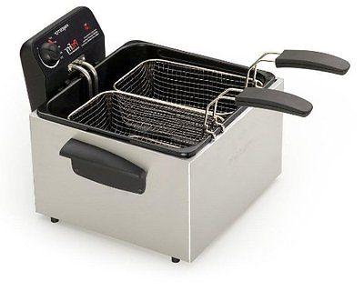 05466 stainless steel dual basket pro fry