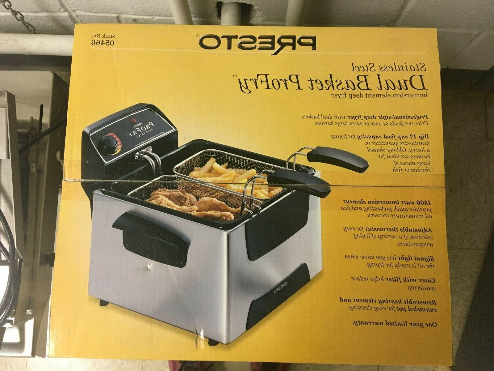 Dual Basket Element Deep Fryer