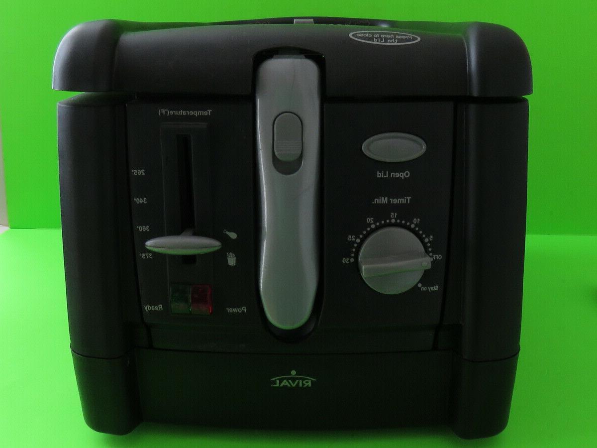 Rival Fryer Top Appliance Model: CZF-625