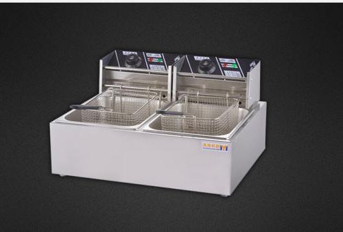 12L Commercial Electric Fryer Deep Food