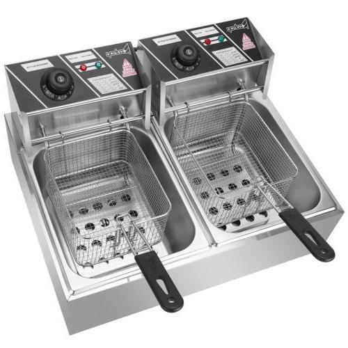 12L Deep Fryer Temperature Control