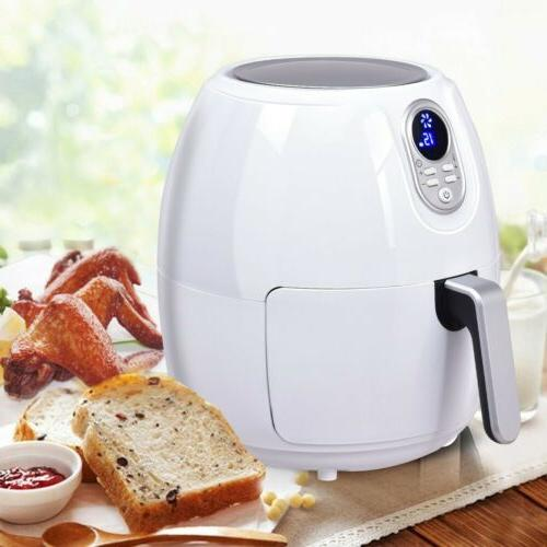 1500W 4.8 Quart Home Kitchen Electric Digital Air Fryer with