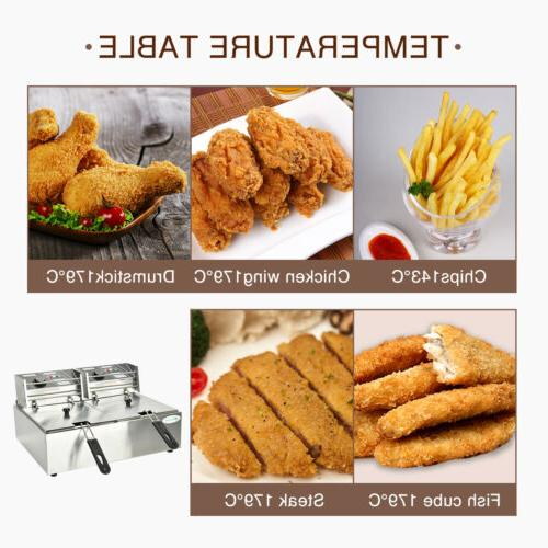 16L Electric Fryer French