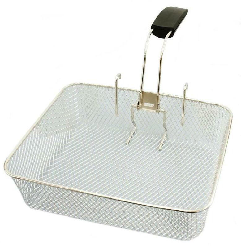 1x deep fryer jumbo basket with handle