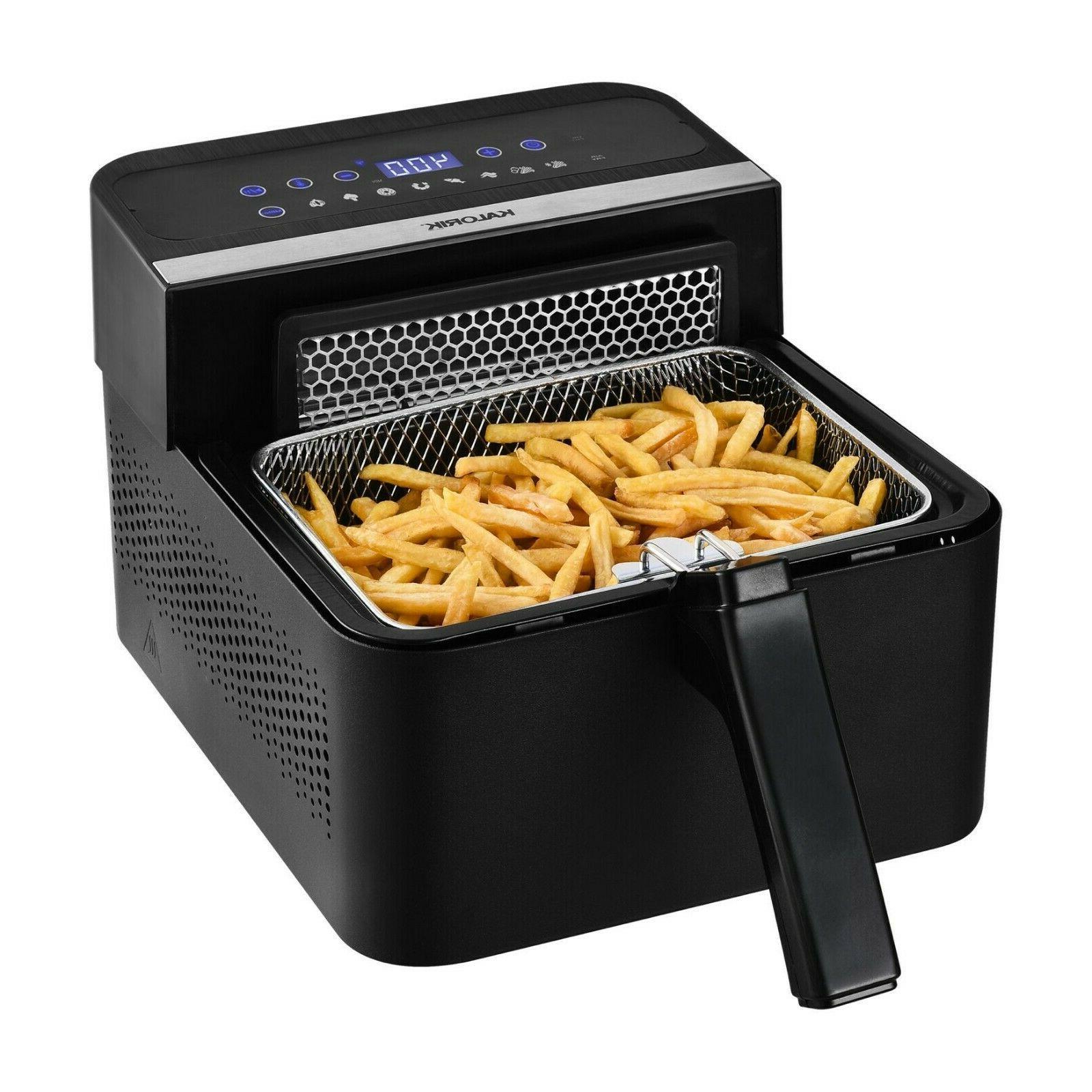 Kalorik® 2-In-1 Digital Air And Deep Fryer