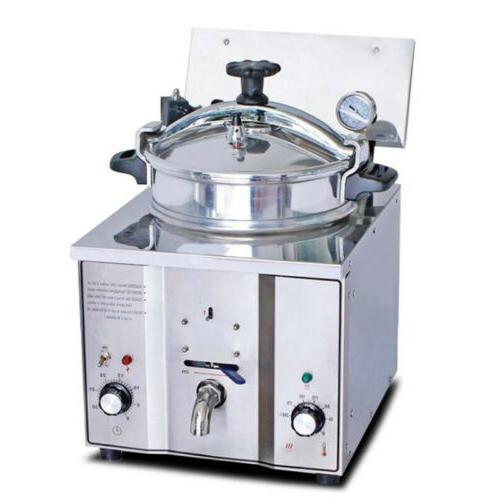 2400W 16L Commercial Electric Countertop Pressure 5