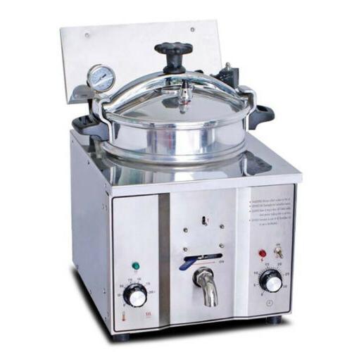 2400W 16L Countertop Fryer