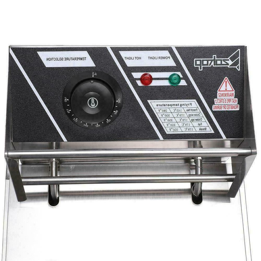2500W 6.3QT/6L Stainless Steel Electric Home Commercial