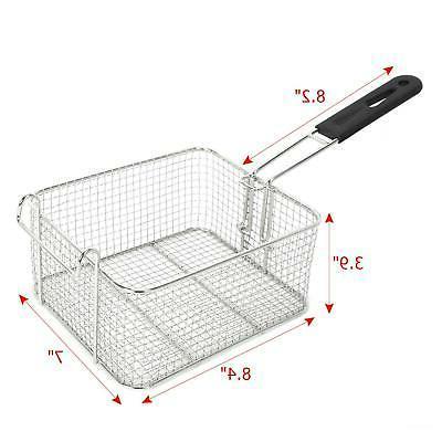 5000W 12LT Electric Deep Steel Basket
