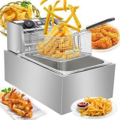 2500w 6l commercial electric deep fryer restaurant